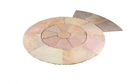 Nat Sand Circle Kit 2 8m Dia B Brown Thistle Timber